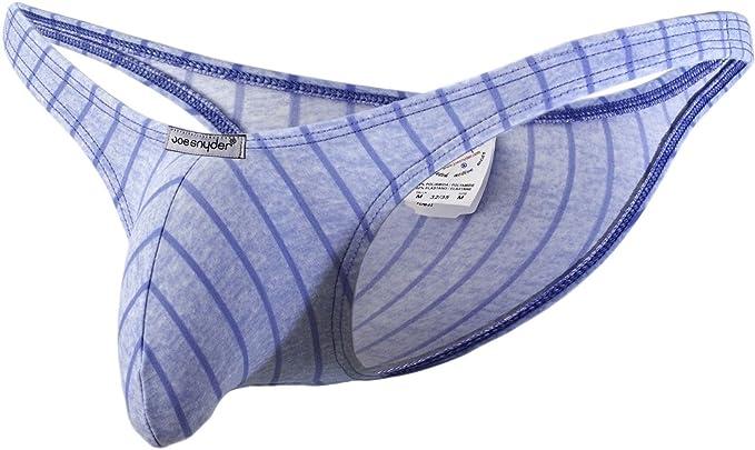 2db4f3696ed6 Joe Snyder Men's Line Blue Bikini Bulge 01: Amazon.co.uk: Clothing