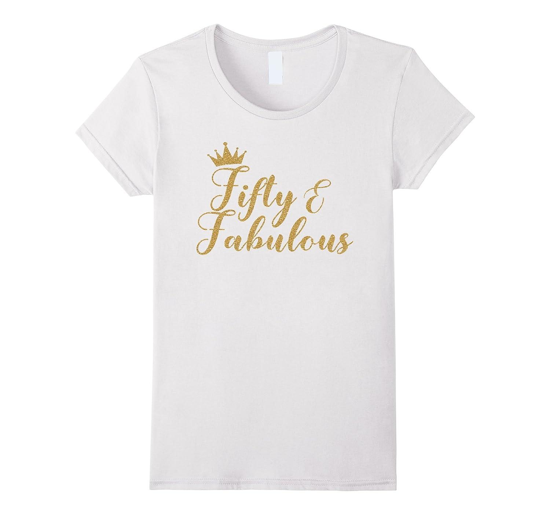 Womens Fifty Fabulous Birthday Women-Awarplus