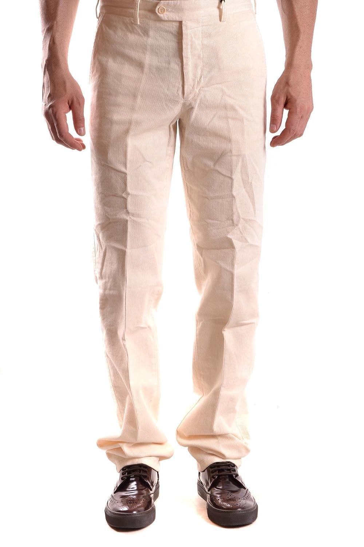 new styles 7eb70 f58aa Alberto Aspesi EZBC067092 Men's White Cotton Pants at Amazon ...