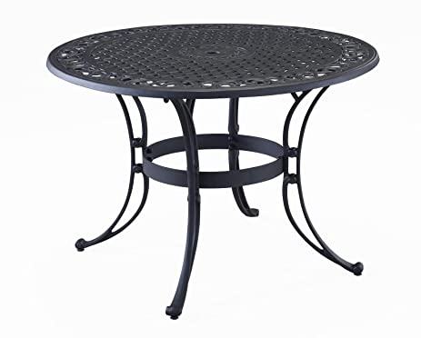 Amazon.com : Home Style 5554-32 Biscayne Round Outdoor Dining ...