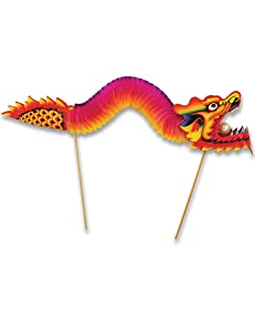 Beistle Dragon Food & Cupcake Pick | Theme Party Supplies and Decoration
