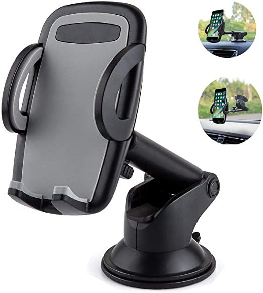 Amazon Com Cell Phone Holder For Car Yostyle Car Dashboard Windshield Phone Mount Holder Cradle For Iphone X Xs Xr Xs Max 8 8plus 7 6s Galaxy S10 S9 S8 S7 Note 8 9 Lg Nexus Sony Nokia Blackberry And More