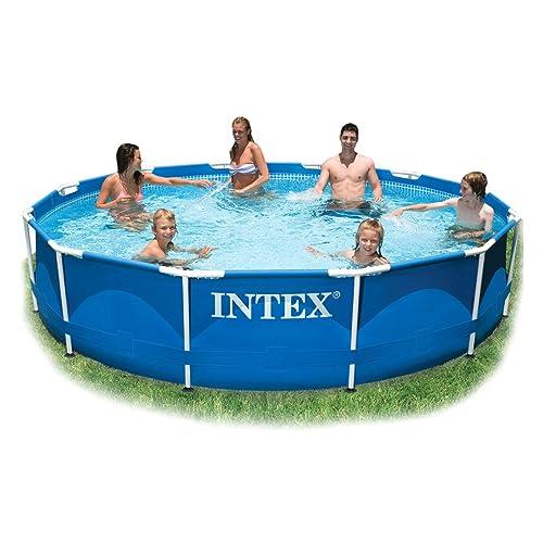 Intex 10ft Diameter x 30in Deep Metal Frame Pool (no pump) #28200