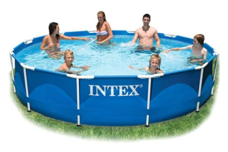 INTEX Piscina desmontable sobre suelo clearview 2,44m 54910