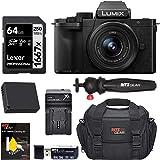 Panasonic DC-G100KK LUMIX G100 Mirrorless 4K Vlogging Camera with 12-32mm F3.5-5.6 Lens, Spare Battery, Ritz Gear Camera…