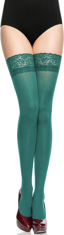 Merry Style Calze Autoreggenti in Microfibra Donna 40 DEN MSSSJ01