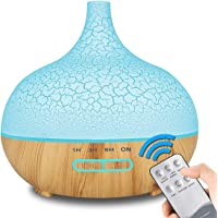 Enhoota 400ML Wood Grain Electric Diffusers