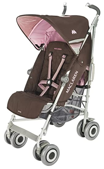 8e911f174 Amazon.com : Maclaren Techno XLR Stroller, Coffee/Powder Pink (Discontinued  by Manufacturer) : Infant Car Seat Stroller Travel Systems : Baby