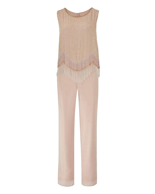 f32ba5912b17 Simply Be Womens Joanna Hope Beaded Jumpsuit  Amazon.co.uk  Clothing