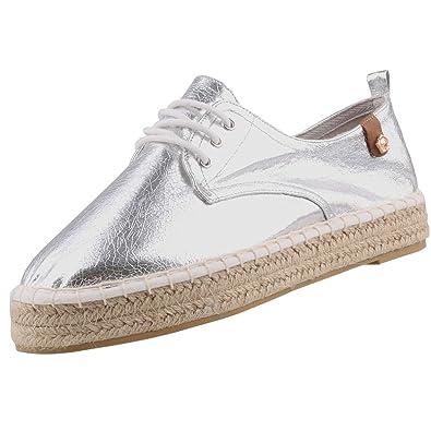 finest selection f121b 1c449 Tamaris Damen Schnürschuhe Silber (Metallic), Schuhgröße:EUR ...