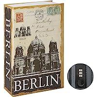 Jssmst Diversion Book Safe with Combination Lock, Secrect Hidden Safe Lock Box for Home Office Code Lock Money Box High…