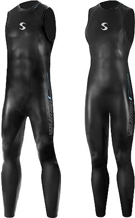 Synergy Volution Triathlon Wetsuit 3/2mm - Sleeveless Long John Smoothskin Neoprene Ironman & USAT Approved