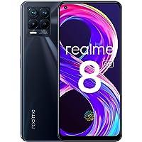 """realme 8 Pro Smartphone Libre, Cámara cuádruple Ultra de 108 MP, Pantalla completa AMOLED superior de 6,4"""", Carga…"""
