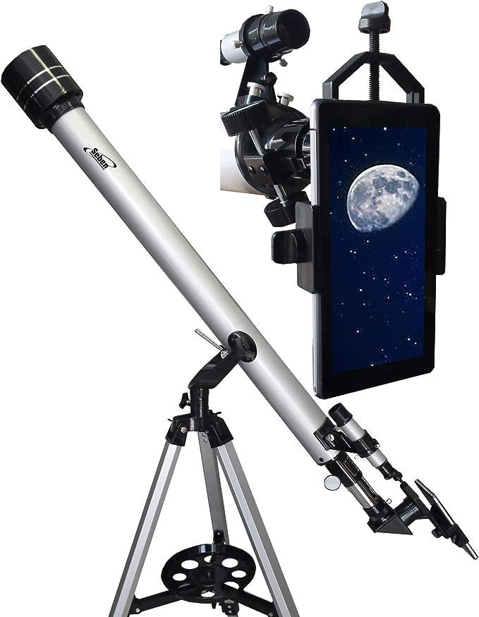 Telescopio Refractor Star Commander 900-60 de Seben + Smartphone ...