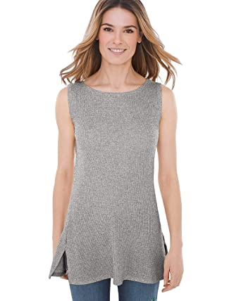 365369f5ff3d33 Chico s Women s Zenergy Waffle Layer Tank at Amazon Women s Clothing ...