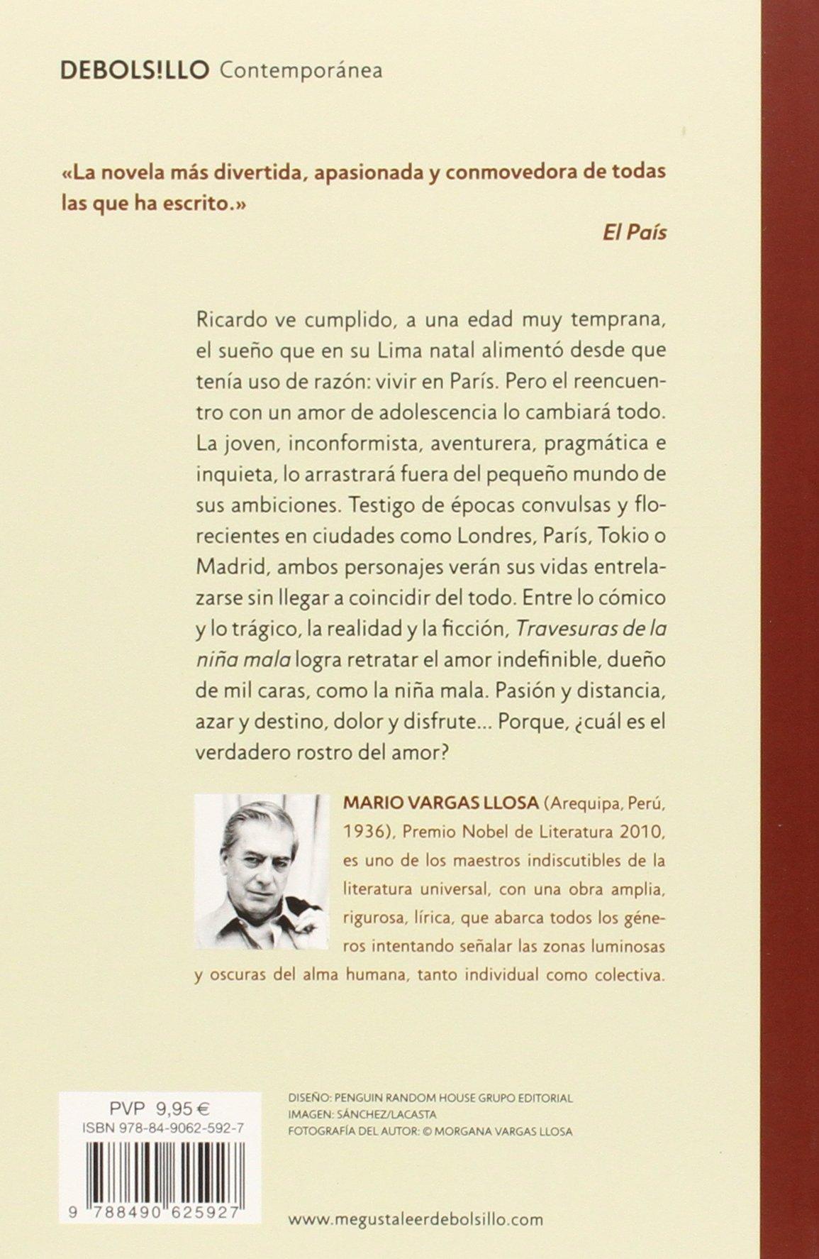 Travesuras de la niña mala / The Bad Girl (Spanish Edition): Mario Vargas  Llosa: 9788490625927: Amazon.com: Books