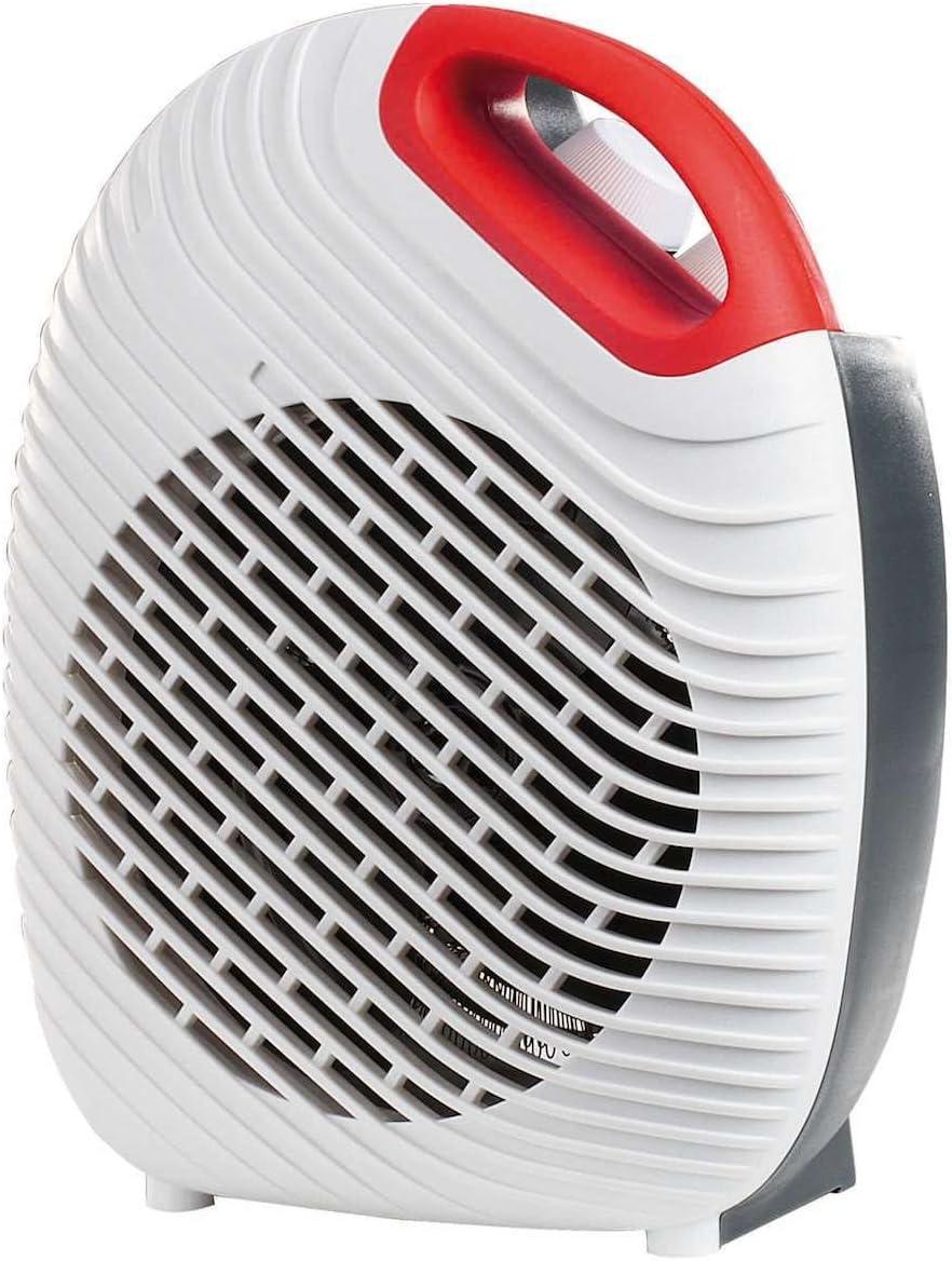 Calefactor baño Silencioso y ventilador pequeño Asa 2000 W Blanco ...