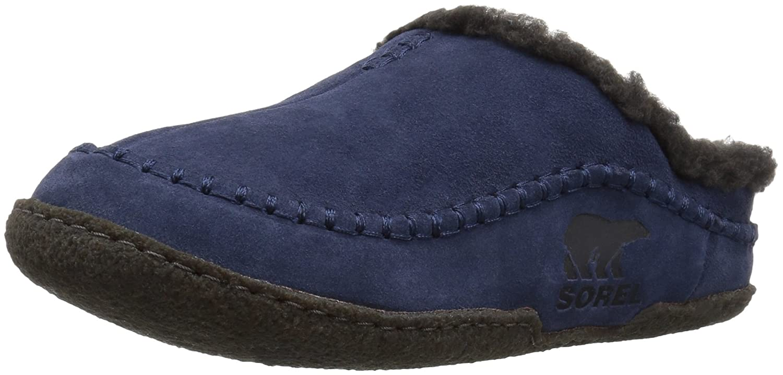 Sorel Herren Falcon Ridge Slipper, blau (nocturnal), Größe  44