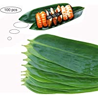 Sushi Bazooka Maker Kit Bamboo Leaves Decorations for sushi roller plates