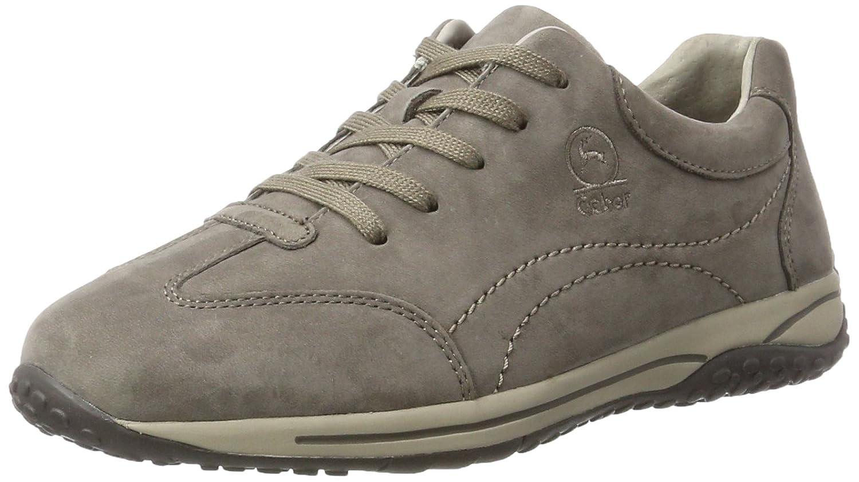 Gabor Shoes Comfort Basic, Zapatos de Cordones Derby para Mujer 37 EU Gris (31 Fumo)