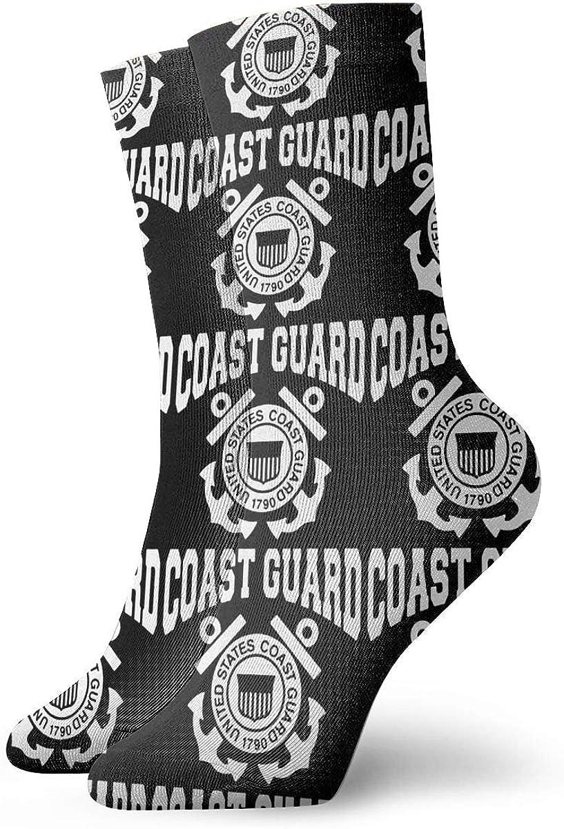 Us Coast Guard Socks,Dress Socks Funny Socks Crazy Socks Casual Crew Socks