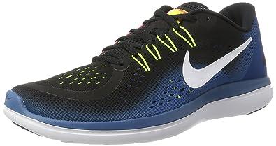 Nike Herren Flex 2017 RN Laufschuhe Marineblau UK