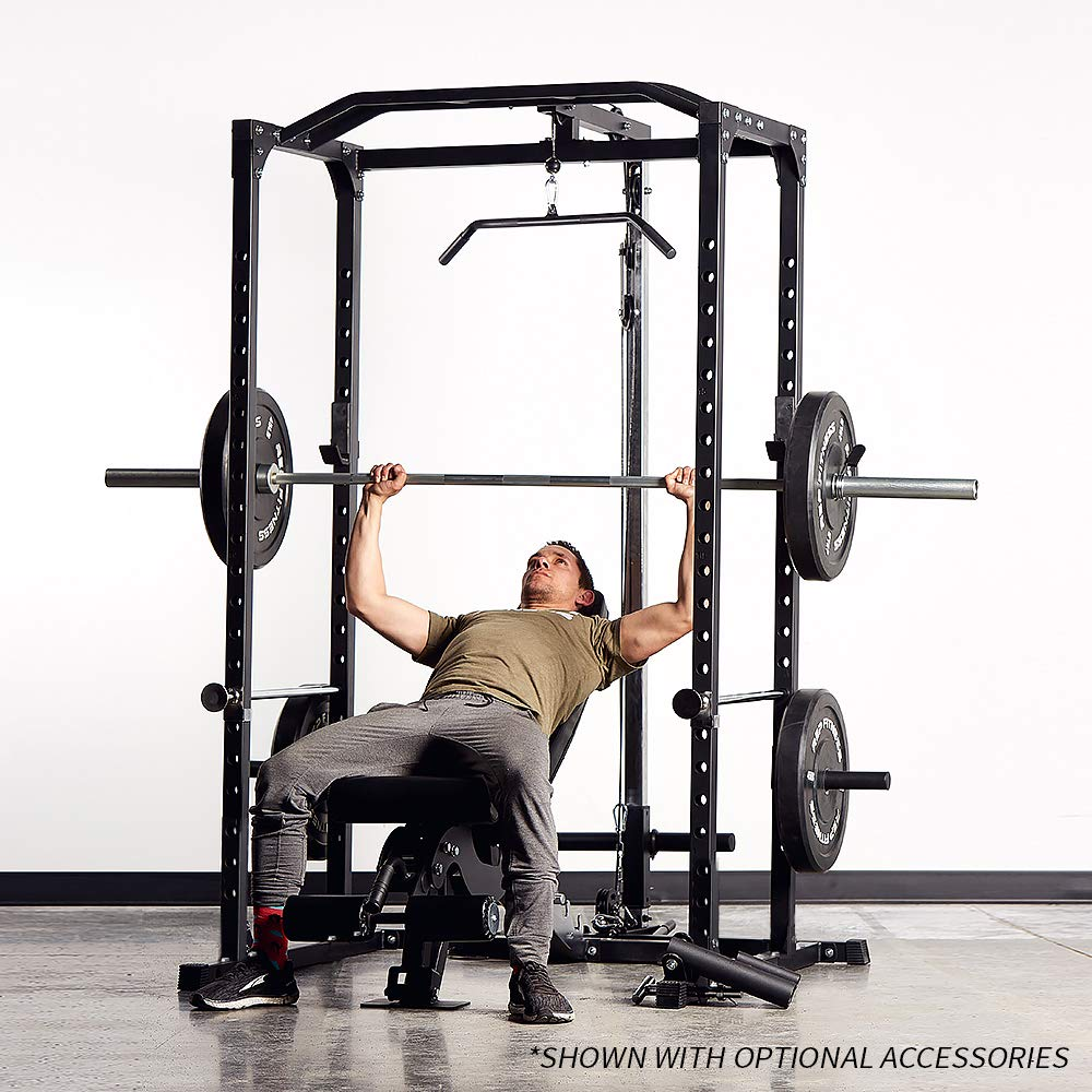Rep PR-1100 Power Rack - 1,000 lbs Rated Lifting Cage for Weight Training by Rep Fitness (Image #6)