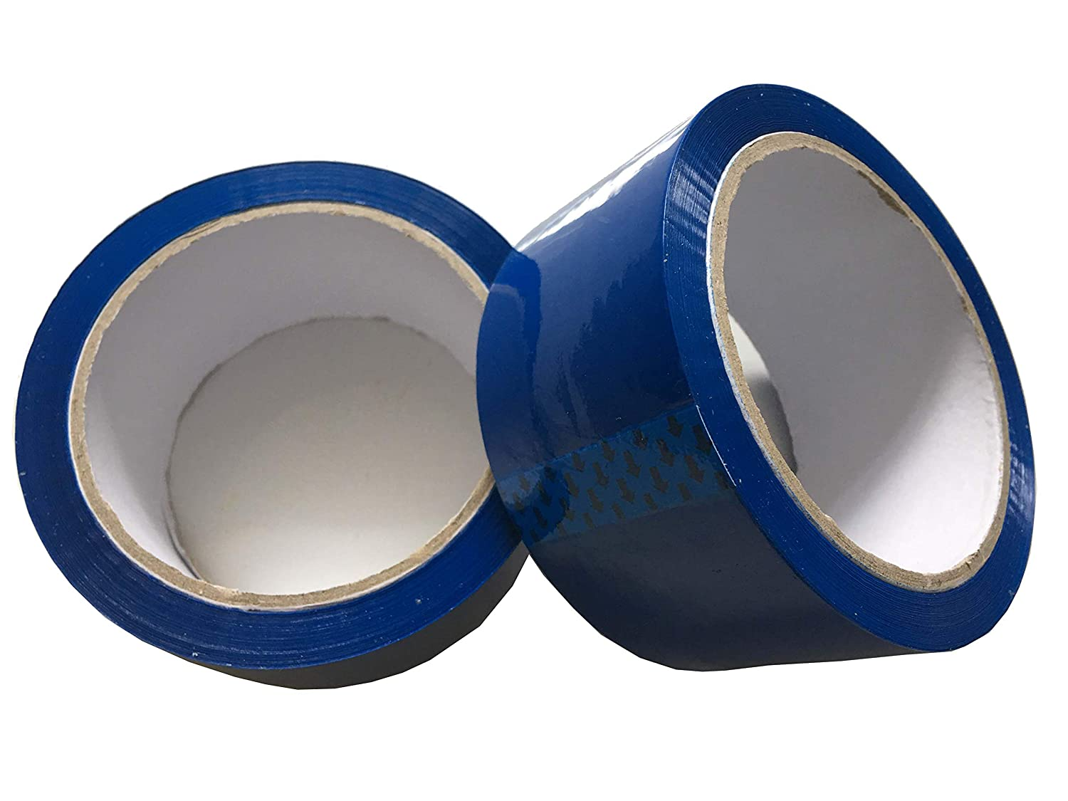 Tezraftaar/® 1 Roll Parcel Packing Tape 48mm X 66M Coloured Strong Packaging Tape for Parcels and Boxes Blue