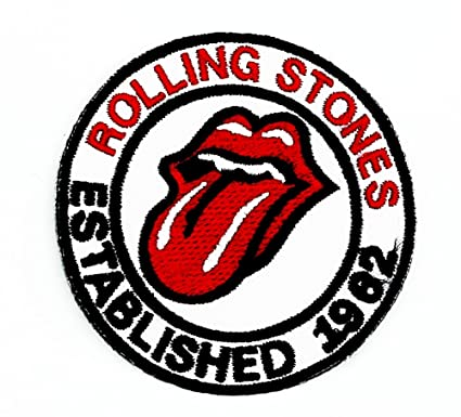 Amazon Mnc Patch White The Rolling Stones Music Band Heavy