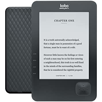 Kobo N647-KBU-B Wireless e-Book Reader