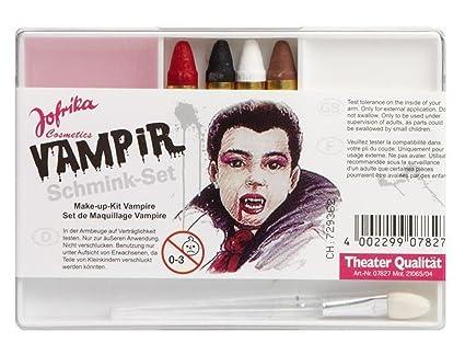 Schminkset Schminke Kinder Makeup Vampir Vampirschminke Graf Dracula