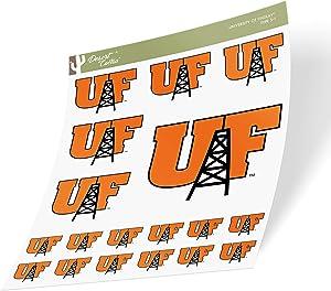 University of Findlay UF Oilers Sticker Vinyl Decal Laptop Water Bottle Car Scrapbook (Sheet Type 3)