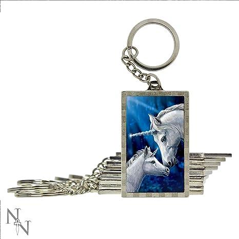 Weird Or Wonderful Llavero con diseño de Unicornios ...