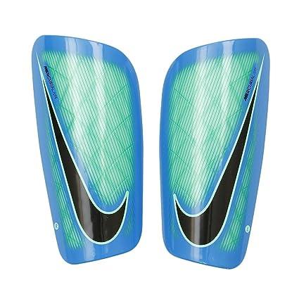 NIKE PROTECTORS FOOTBALL MERCURIAL LITE SHIN GUARD SP2086-300 (Electro  Green/Blue/