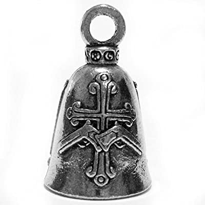 Guardian This Bike Protected Motorcycle Biker Luck Gremlin Riding Bell or Key Ring (1): Automotive