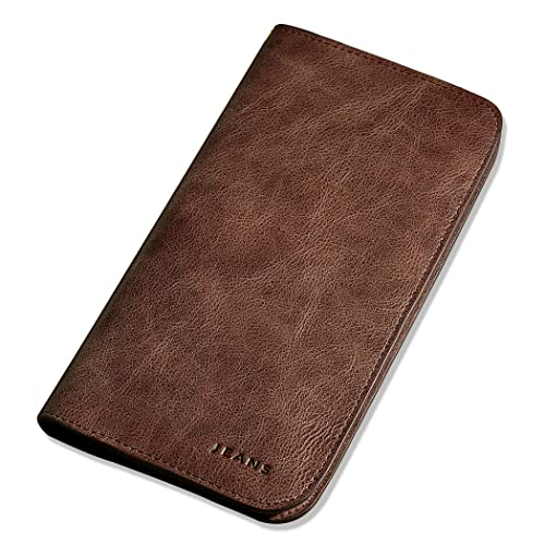 d1e74fab49c8 WILLIAMPOLO 財布 メンズ 長財布 本革 人気 ブランド 大容量 カードケース お札入れ 181