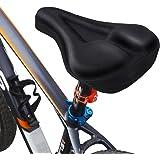 MPTECK @ Cuscino di Sedile di Bicicletta Sella bicicletta con Cuscinetto in Gel per Mountain Bike sella della bicicletta