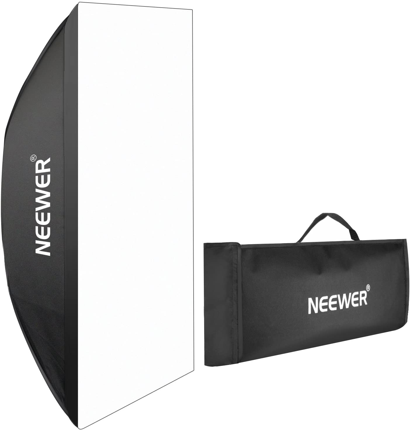 Neewer Portable Rectangular Softbox with Bowens Mount 60 X 90cm 23.6 X 35.4 for Canon Nikon 300w 400W 600w 800W 1000w Studio Flash