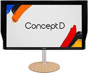"ConceptD CP3 CP3271K Pbmiippruzx 27"" UHD 4K (3840 x 2160) IPS G-SYNC Compatible Monitor, Pantone Validated, VESA Certified DisplayHDR400, DCI-P3, Delta E<1 (2 x DP, 2 x HDMI & 4 x USB 3.0 Ports)"