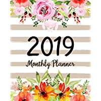2019 Monthly Planner: A Year   12 Month   January 2019 to December 2019 For To do list Journal Notebook Planners And Academic Agenda Schedule weekly monthly Calendar planner (Volume 2)