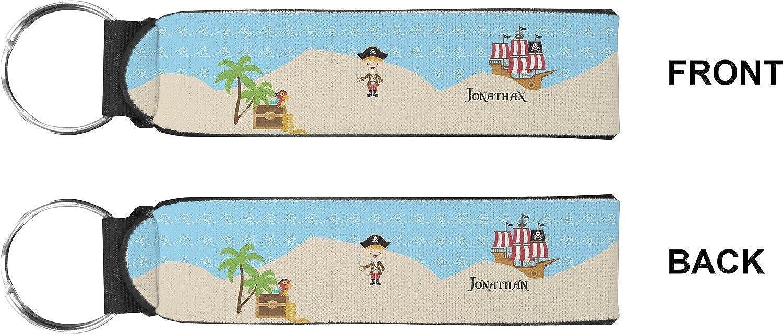Pirate Scene Keychain Fob (Personalized)