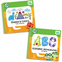 LeapFrog Leapstart Preschool Activity Book Bundle with Alphabet Adventures, Multicolored Level 1 Level 1