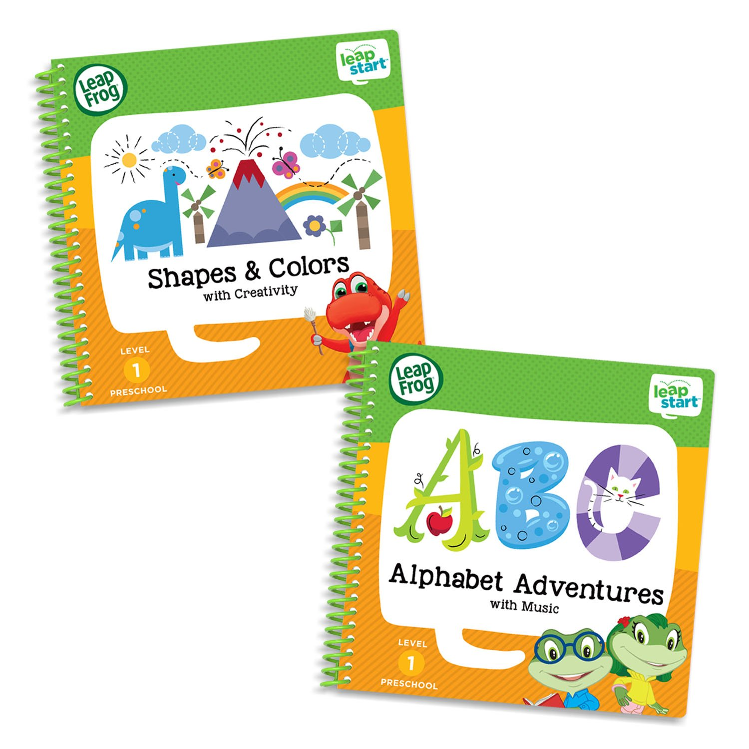 LeapFrog Leapstart Preschool Activity Book Bundle with ABC, Shapes & Colors, Level 1 by LeapFrog
