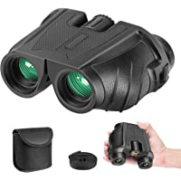 Neewer 10x25 Folding High Powered Binoculars with Weak Light Night Vision Clear Bird Watching Compact Waterproof Great…