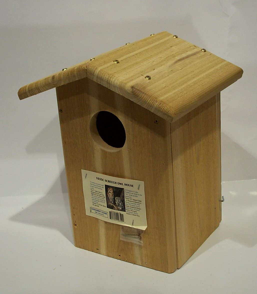 Songbird Essentials SESC1035C Screech Owl House