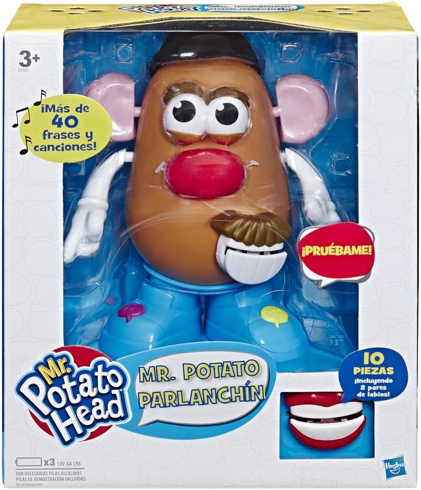 Potato Head - Mr Potato Parlanchin (Hasbro E4763105): Amazon.es ...
