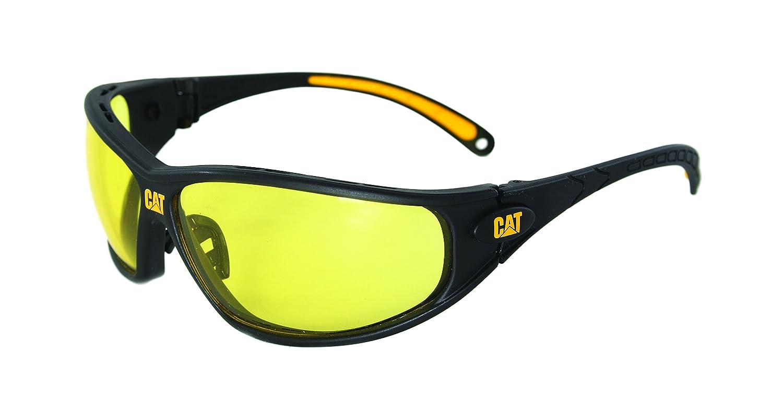 Caterpillar Tread Safety Glasses, Black and Yellow, Yellow - Reloj Caterpillar Para Hombres - Amazon.com