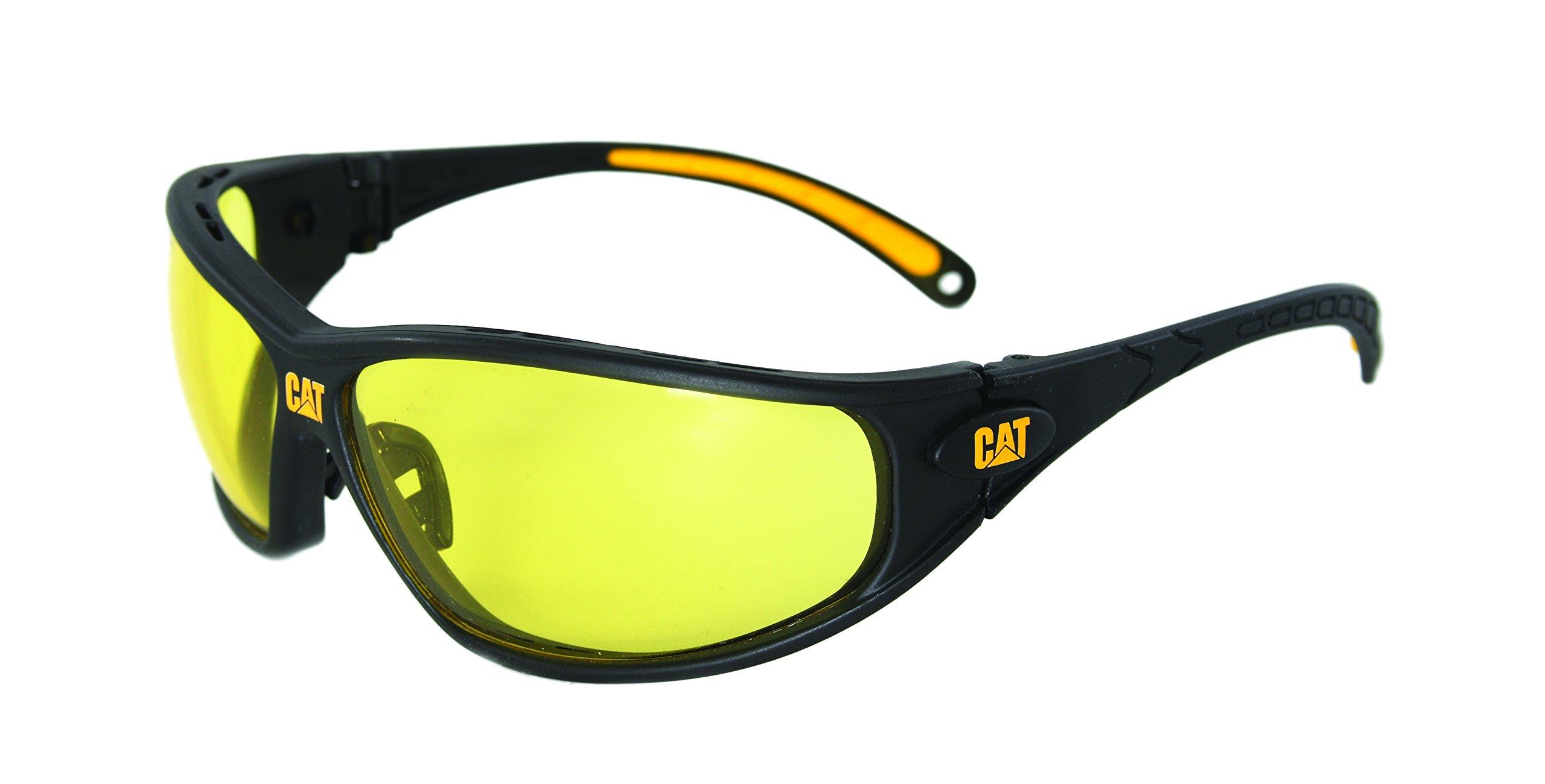 CAT Caterpillar Track Protective Eyewear Adjustable Mens Safety Glasses