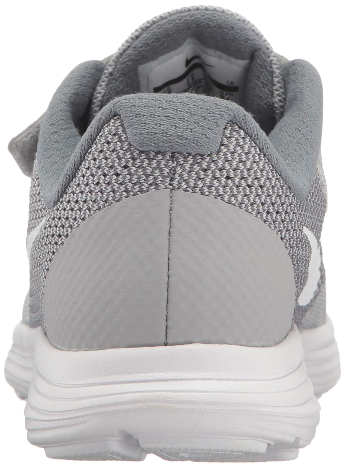 NIKE Kids' Revolution 3 (Psv) Running-Shoes, Wolf Grey/White/Cool Grey, 1 M US Little Kid by Nike (Image #2)