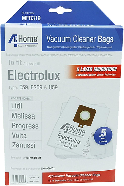 First4Spares aspiradora Hoover bolsas de microfibra para Lidl ...